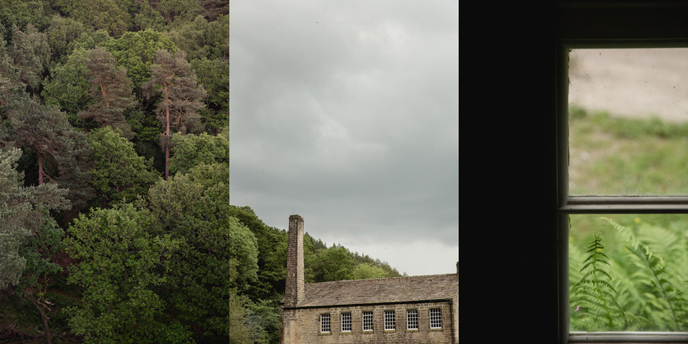 details of the Gibson Mill wedding venue in hebden bridge