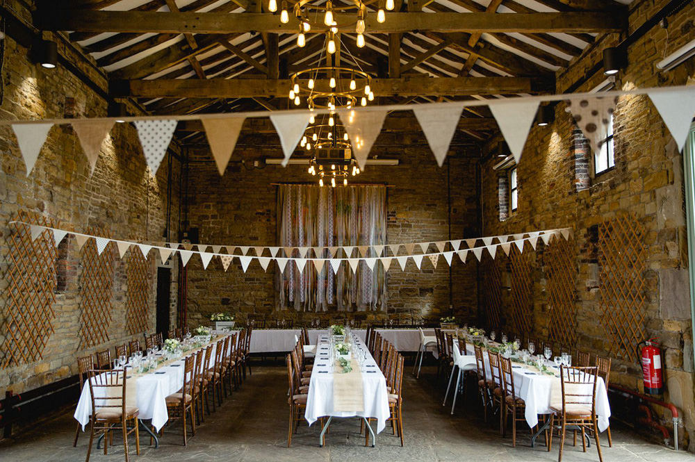 Yorkshire Wedding Barn table layout