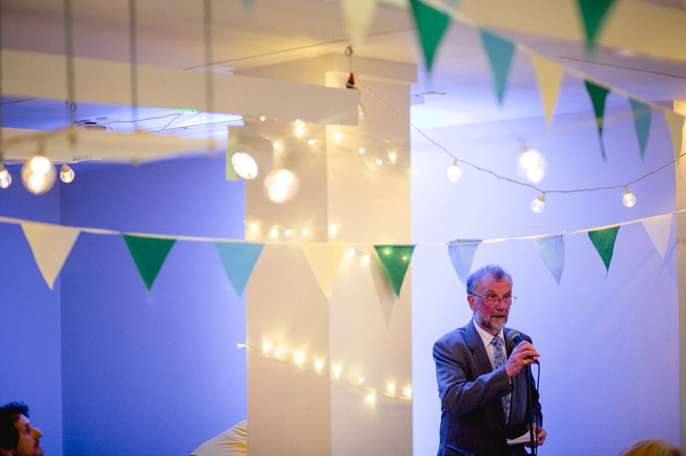 father of the bride speech at leeds gallery wedding venue