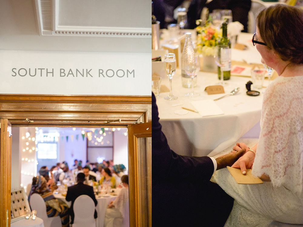 documentary wedding details inside the tetley gallery wedding venue leeds