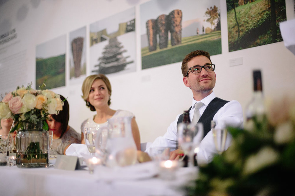 yorkshire sculpture park wedding reception