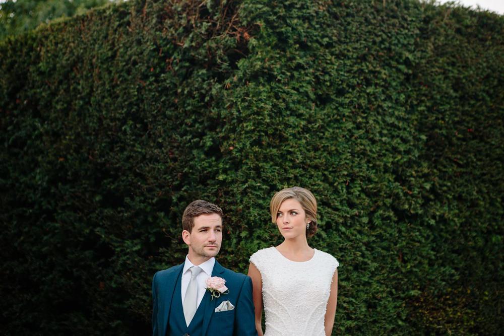 fun and quirky portrait yorkshire sculpture park wedding venue