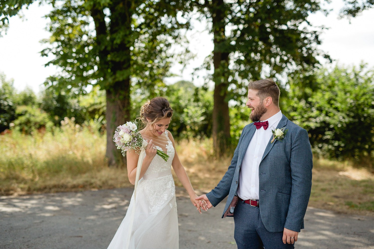 Hornington Manor Outdoor Wedding York | Amy & Chris