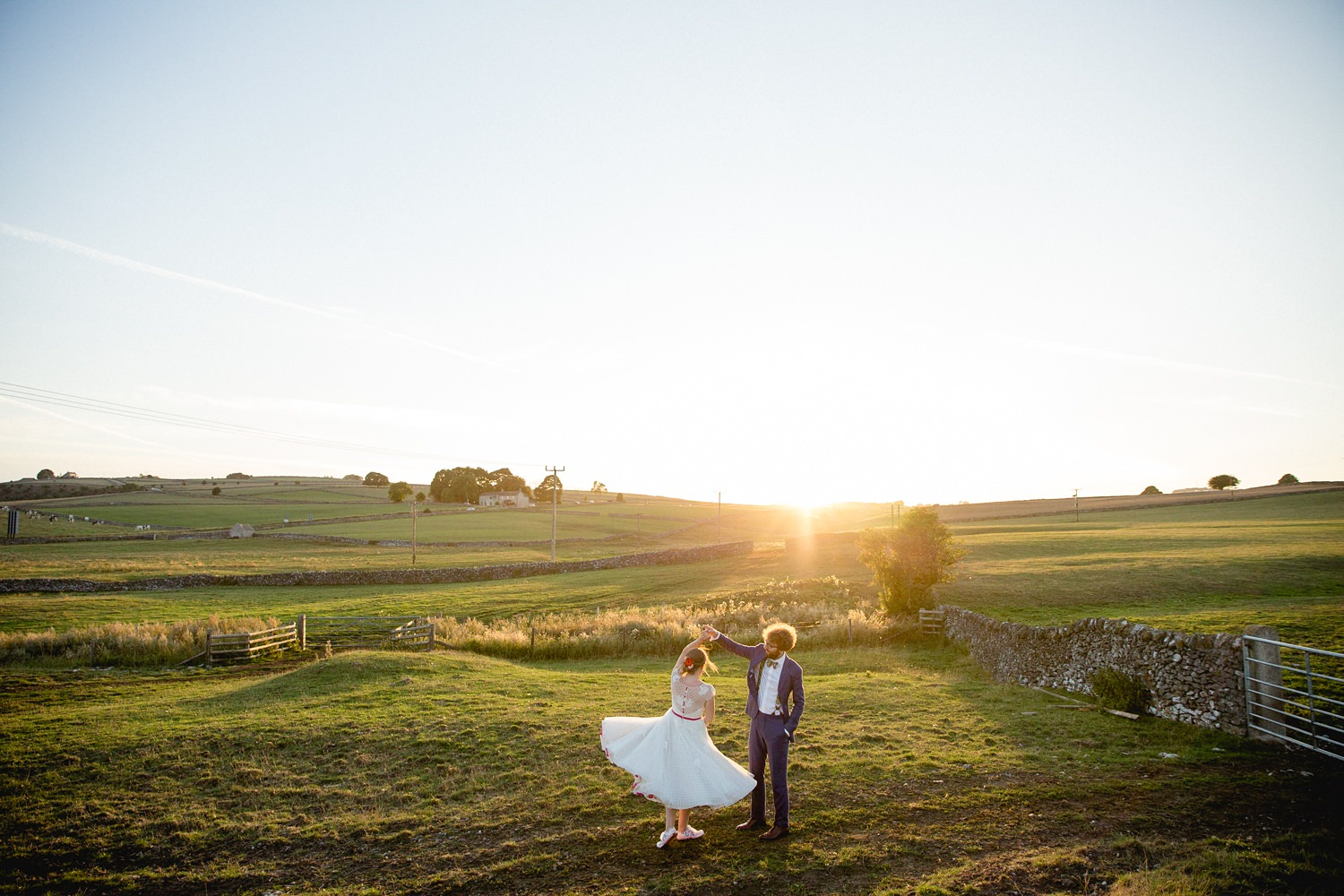 Heather & Paul | Peak District Holiday Barn wedding & Cressbrook Hall